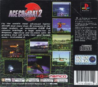 Screenshot Thumbnail / Media File 1 for Ace Combat 2 [E]